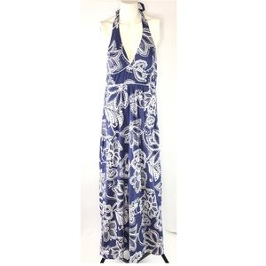 Trixxi Maxi Dress Halter 100% Cotton Fully Lined